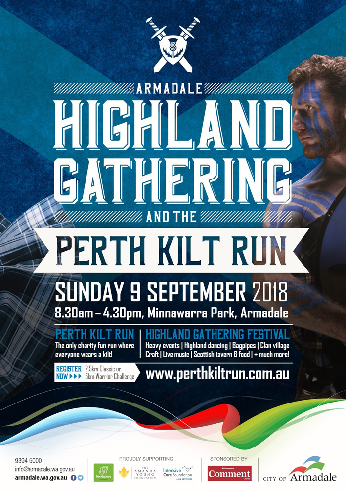 Highland Gathering Flyer